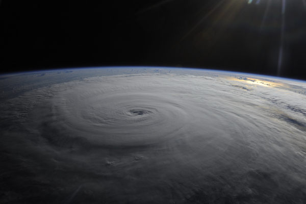 Hurricane Danielle Photgraphed from the International Space Station